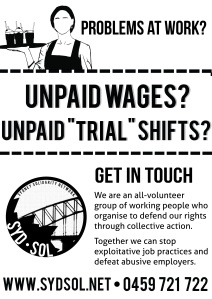Unpaid wages?